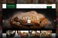 Maypole Website - Custom website design and development
