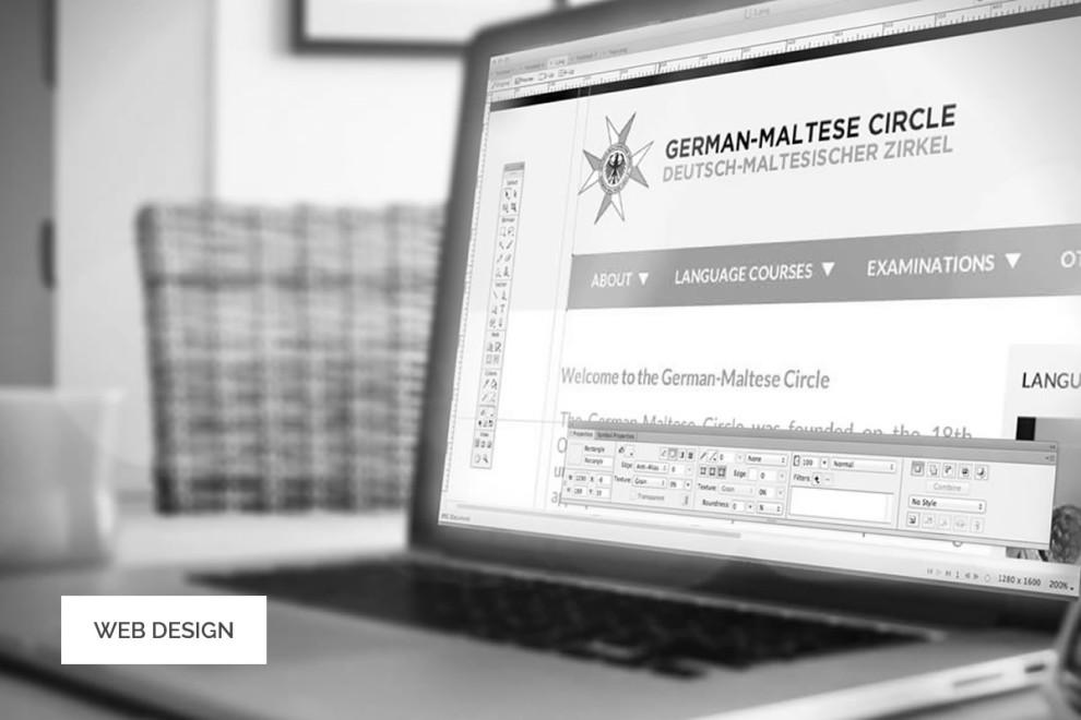 GermanMalteseCircle.org - Web Design and Development