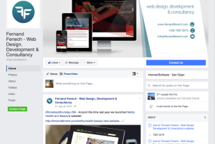 New Facebook Pages