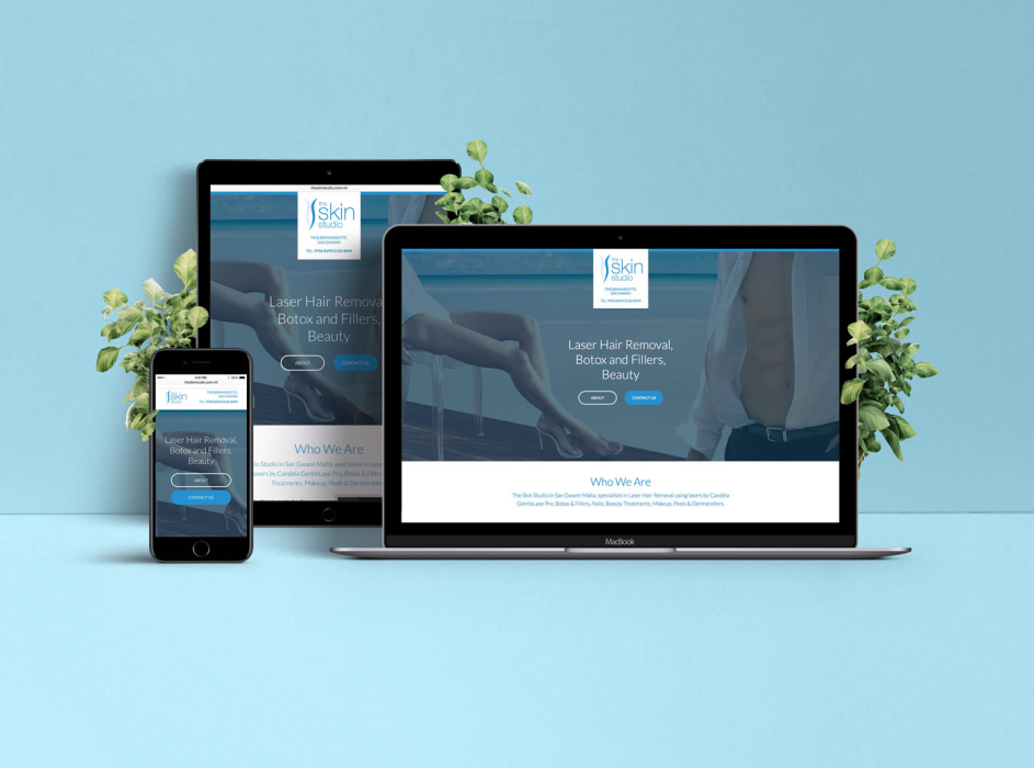 The Skin Studio - Responsive Website