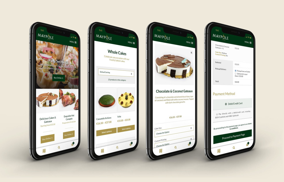 Maypole - Custom Website Design and Development