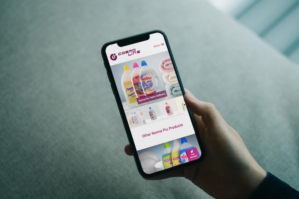 Cosmoline Ltd - Mobile Responsive