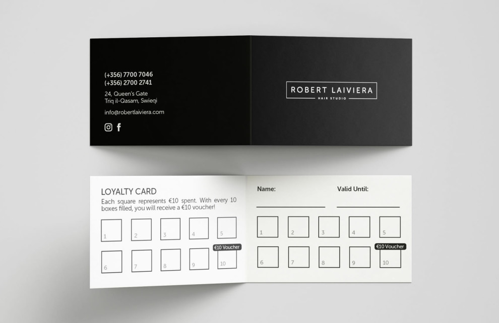 Robert Laiviera - Logo and Branding
