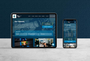 Sky Spirit Fitness Lounge - Web Design and DevelopmentMix